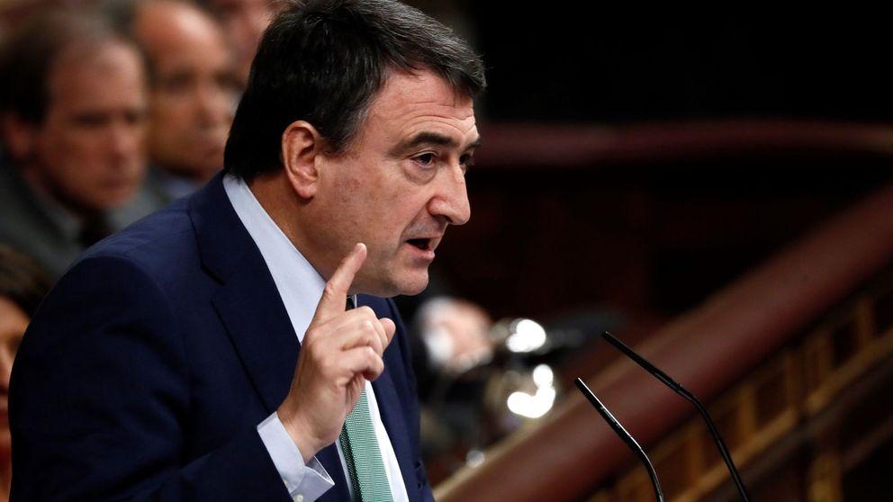 Así ha sido la intervención de Aitor Esteban (PNV) en la sesión de investidura de Pedro Sánchez
