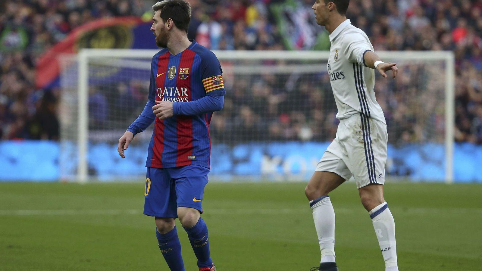 Foto: Messi y Cristiano. (Reuters)