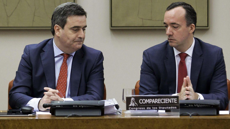 Comparecencia de Francisco Martínez y Miguel Cardenal, presidente del CSD. (Efe)