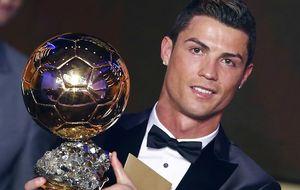 Ronaldo ya está en Zúrich seguro de regresar con el Balón de Oro