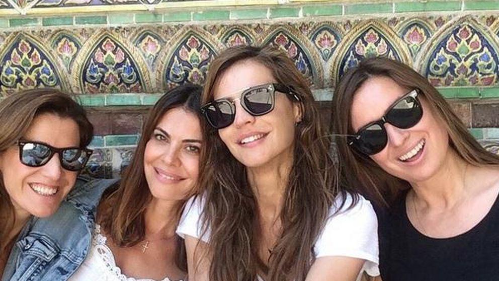 María José Suárez y sus amigas se hacen un 'resacón en Tailandia'