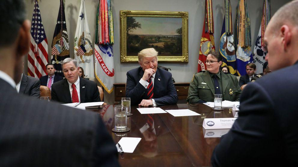 El Senado de EEUU le para los pies a Trump: rechaza la emergencia para financiar el muro