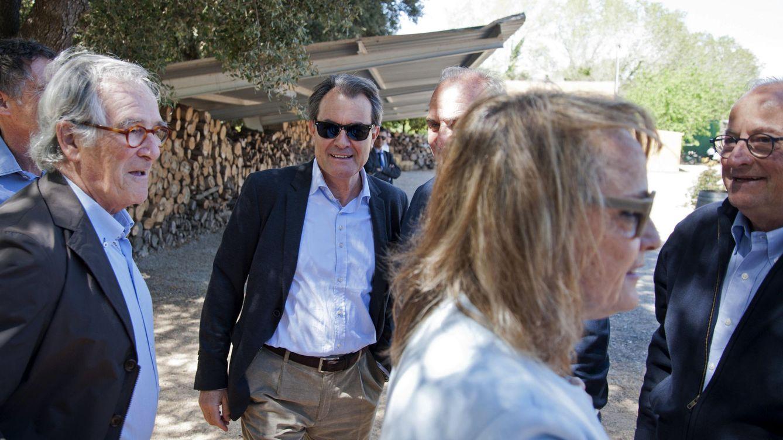 Foto: Artur Mas, Colau e Iceta, entre otros, se reúnen en un almuerzo en La Fonteta, Girona