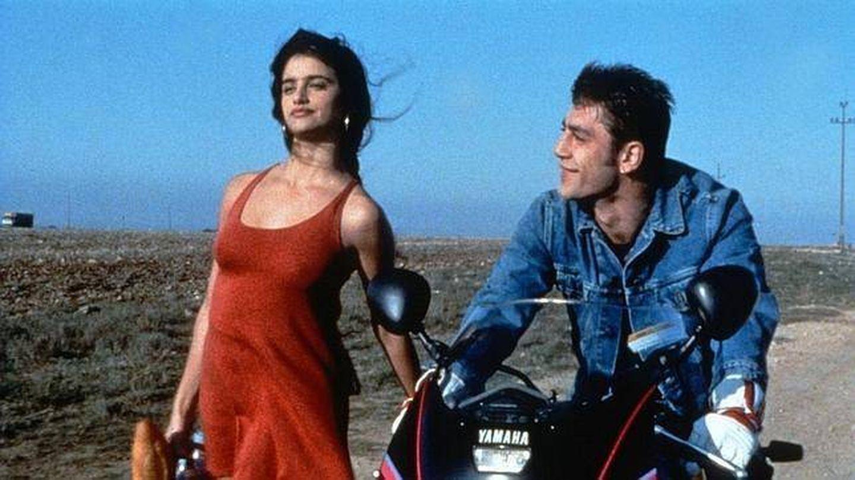 Penélope Cruz y Javier Bardem, en 'Jamón jamón'.