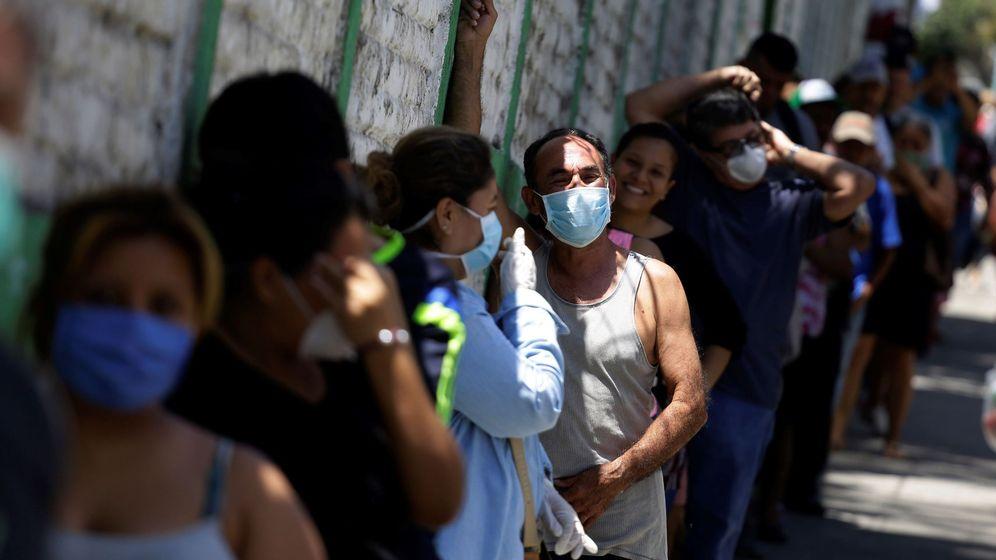 Foto: Primer día de cuarentena en El Salvador. Foto:EFE Rodrigo Sura.