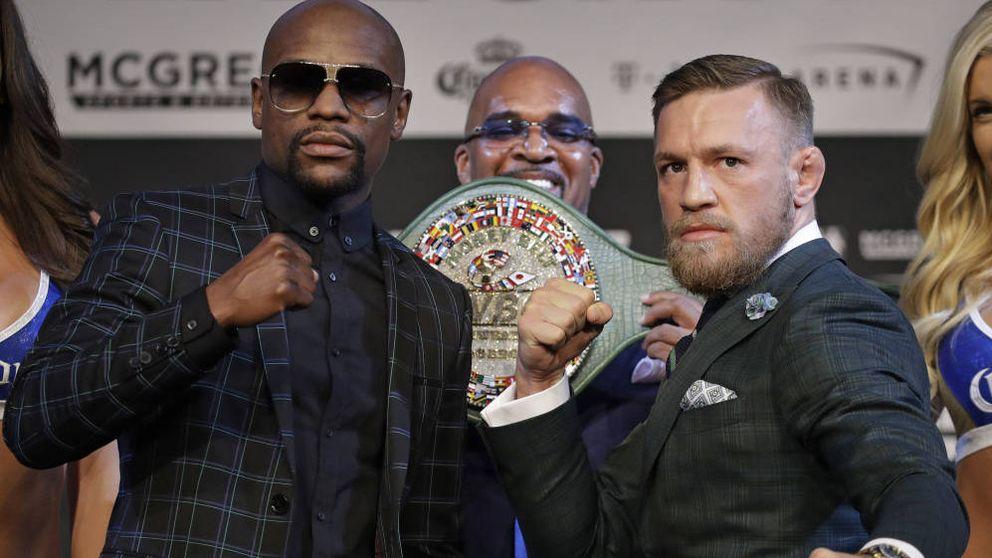 McGregor desafía a Mayweather: Voy a noquear a este hombre mayor