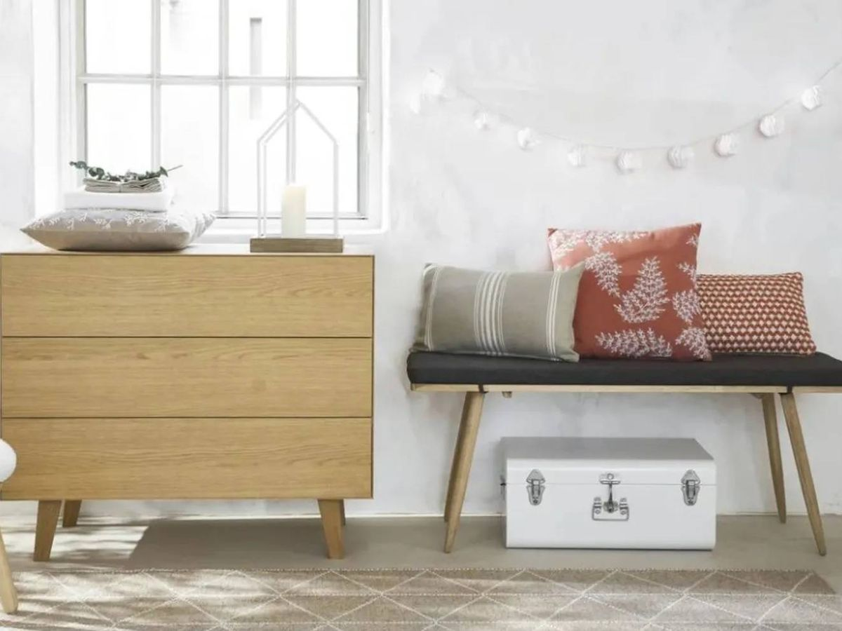 Foto: Muebles para la entrada de Maisons du Monde. (Cortesía)