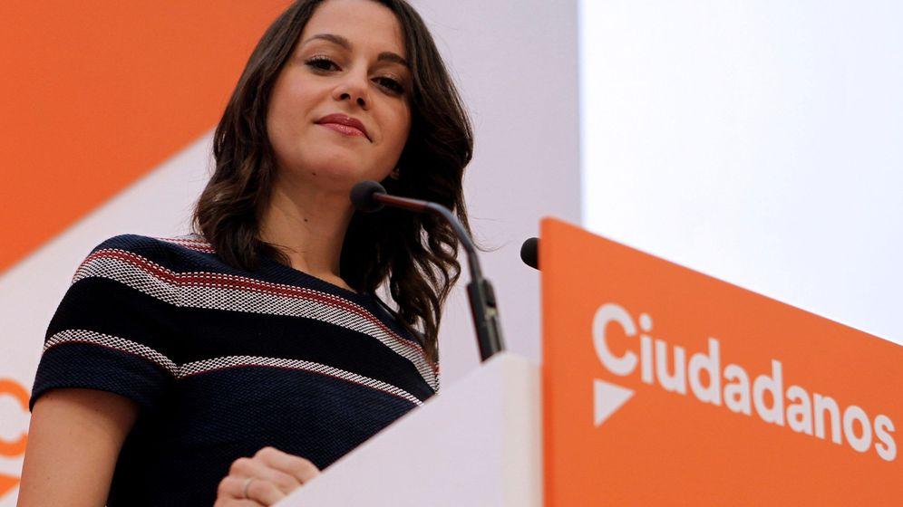 Foto: La portavoz nacional y líder de la oposición en Cataluña, Inés Arrimadas. (EFE)
