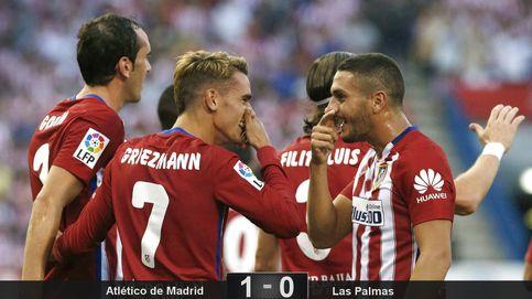 Griezmann y la seriedad de siempre dan al Atlético los primeros tres puntos