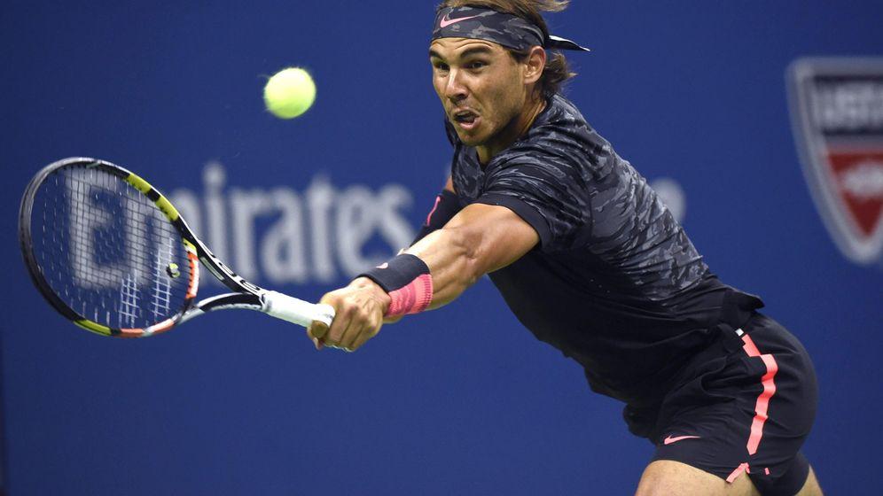 Foto: Nadal no pudo con Fognini y cayó eliminado en la tercera ronda el US Open.