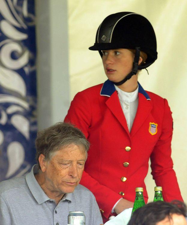 Foto: Bil Gates y su hija visitan la ciudad mexicana de Xalapa. (EFE)