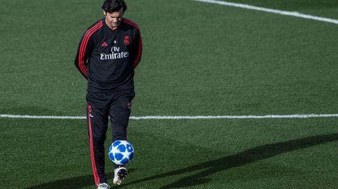La frialdad de Solari para no 'casarse' con los pesos pesados en el Real Madrid