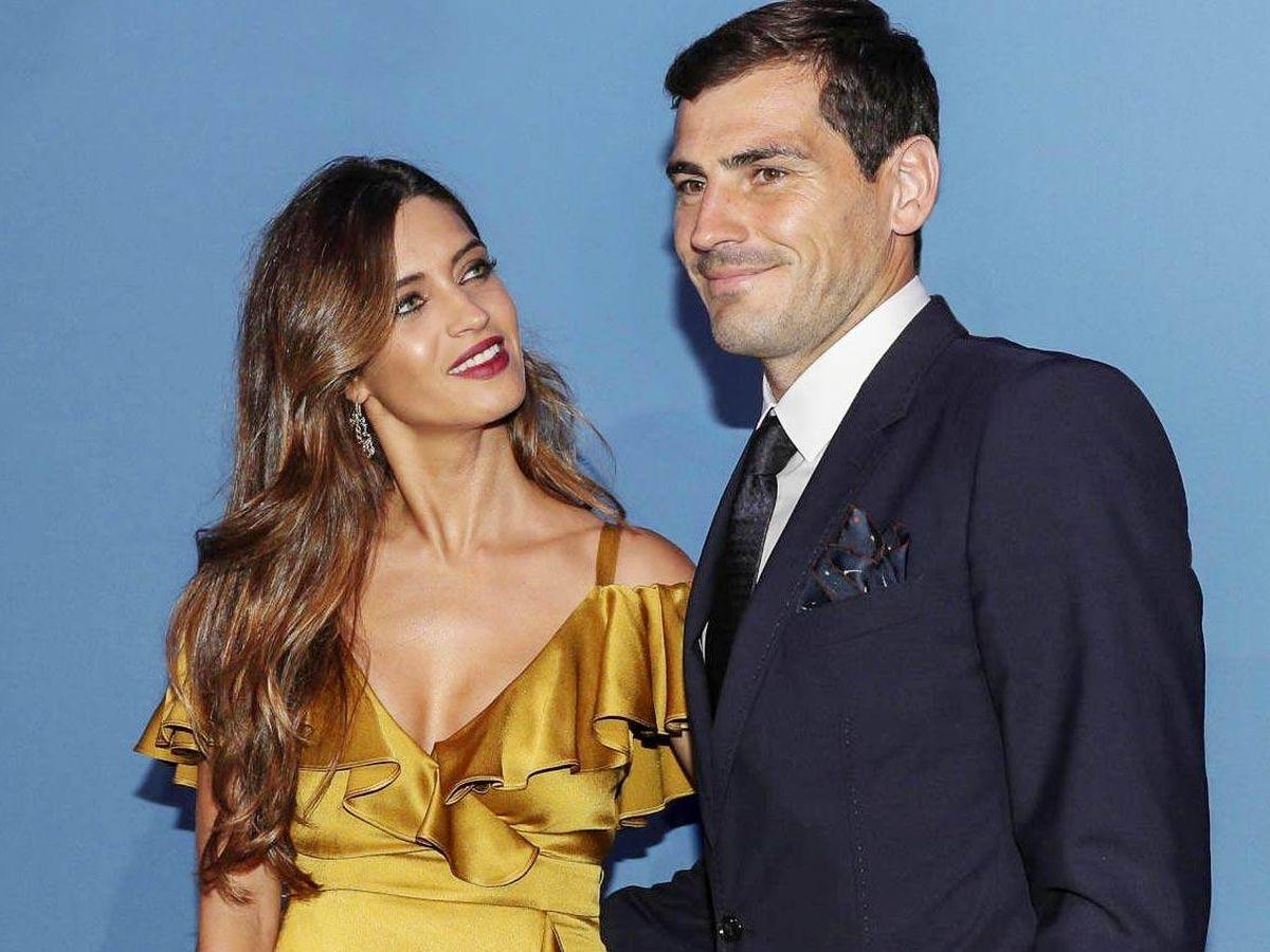 Foto: Sara Carbonero e Iker Casillas, en una imagen de archivo. (Getty)