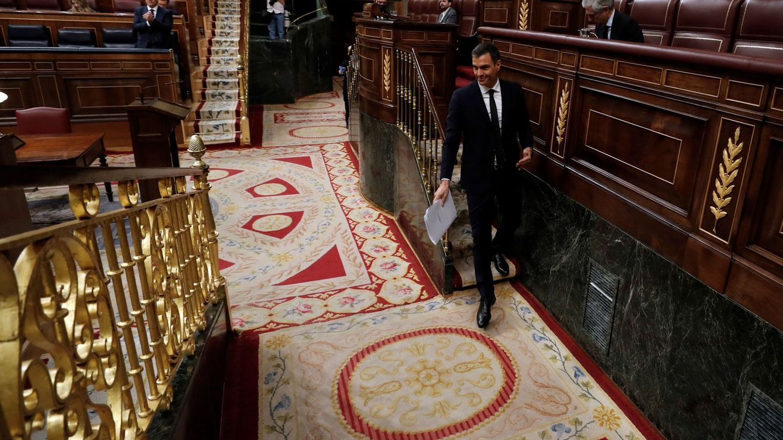 Sánchez se refuerza con mayoría absoluta, frente a la censura global de PP y Vox