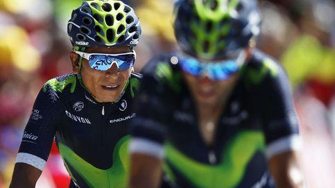 Polémica: Nairo Quintana, pillado en el Mont Ventoux agarrado a una moto