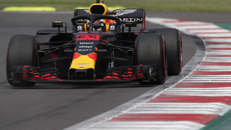 Max Verstappen durante el GP de México. (EFE)