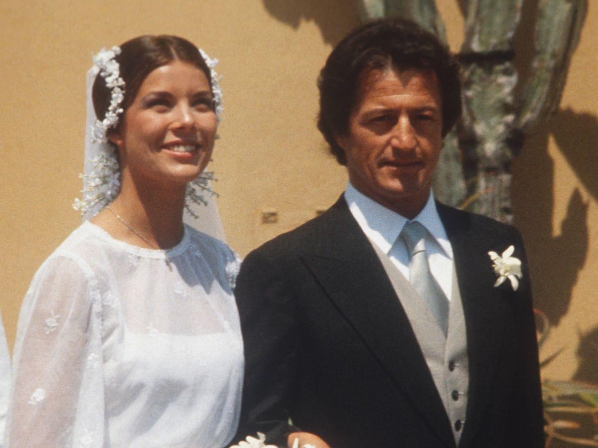Foto: Boda de Carolina de Mónaco y Philippe Junot. (Getty)