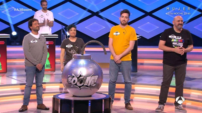 'Los dispersos', eliminados de '¡Boom!' tras un año y medio en el concurso de Antena 3