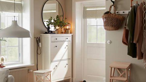 Pequeño y con estilo, decora tu recibidor con estas soluciones de Ikea