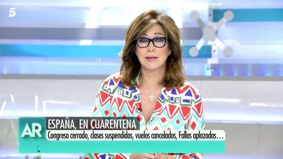 Ana Rosa, indignada con Ponsatí por reírse de los muertos por Coronavirus