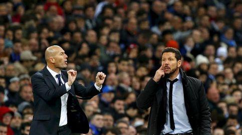 Florentino, Zidane, Simeone, Gabi y el último derbi en el Calderón