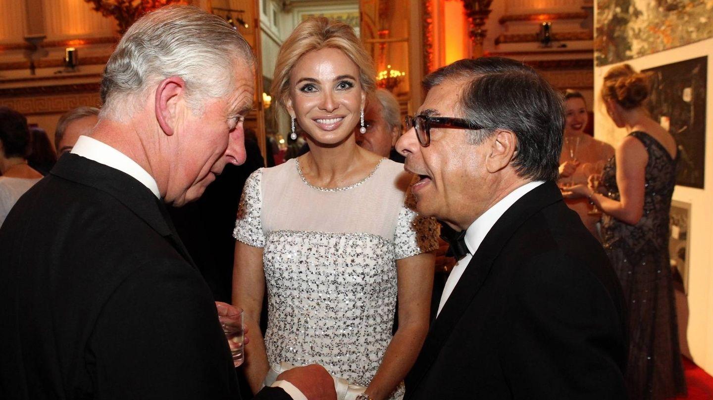 El príncipe Carlos, junto a Corinna. (Getty)