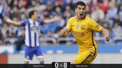 El Barça de Luis (Suárez) utiliza Riazor de diván para disimular sus dudas
