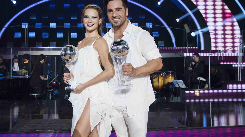 David Bustamante y Yana Olina, en 'Bailando con las estrellas'. (RTVE)