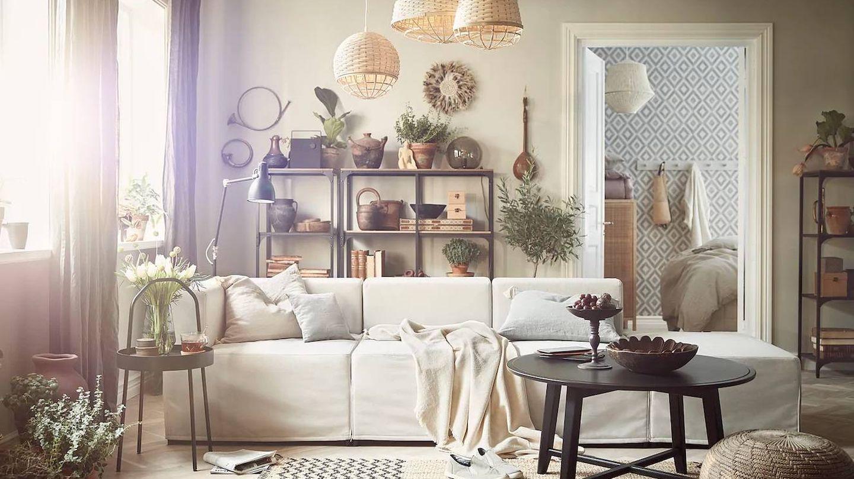 Ikea te ayuda a que tu salón parezca más grande. (Cortesía)