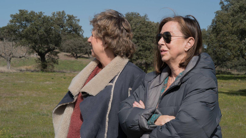 Nora junto a Fátima Guzmán, su cuñada (Vanitatis)