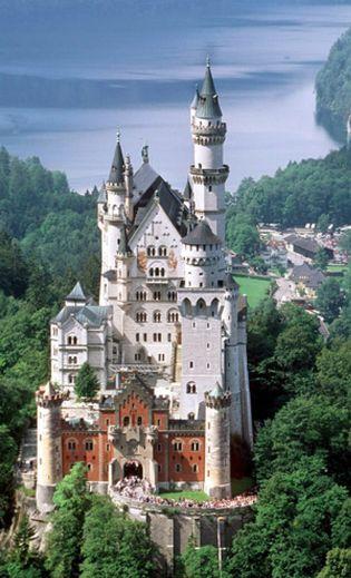 Foto: Un castillo de dragones y princesas