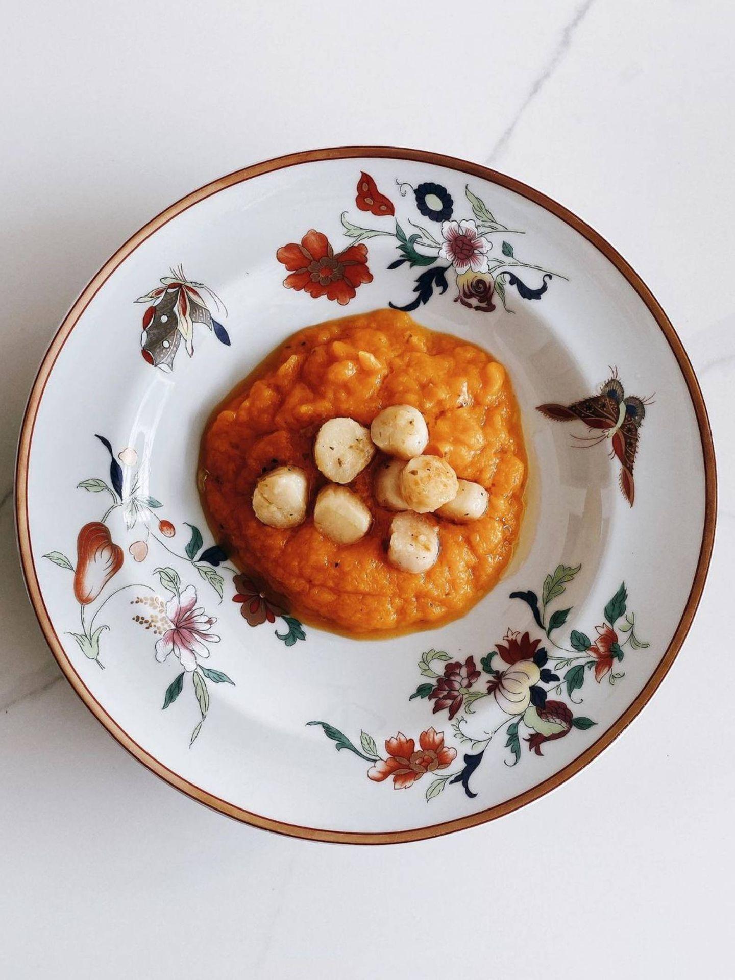 Eugenia Osborne nos enseña una receta sencilla y rápida. (Instagram @eugenia_osborne)