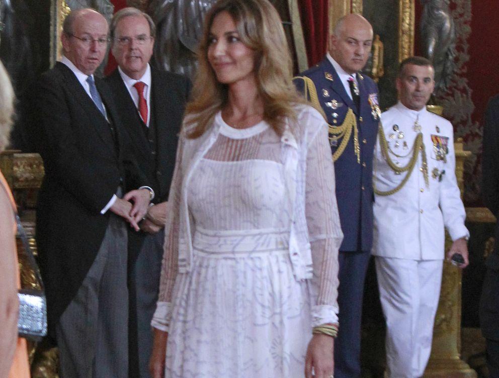 Foto: Mariló Montero este jueves en el besamanos del Palacio Real (Gtres)