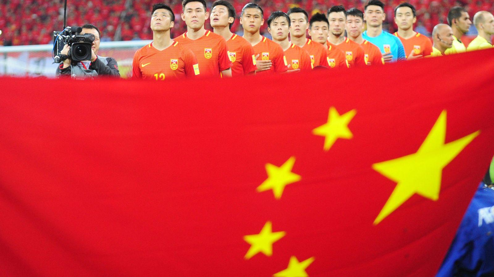 Foto: La selección de China, en un partido de clasificación para el Mundial. (Reuters)