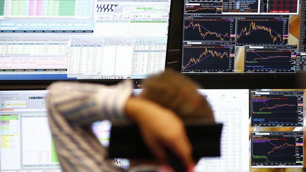 Foto: Un operador de la bolsa alemana (Reuters)