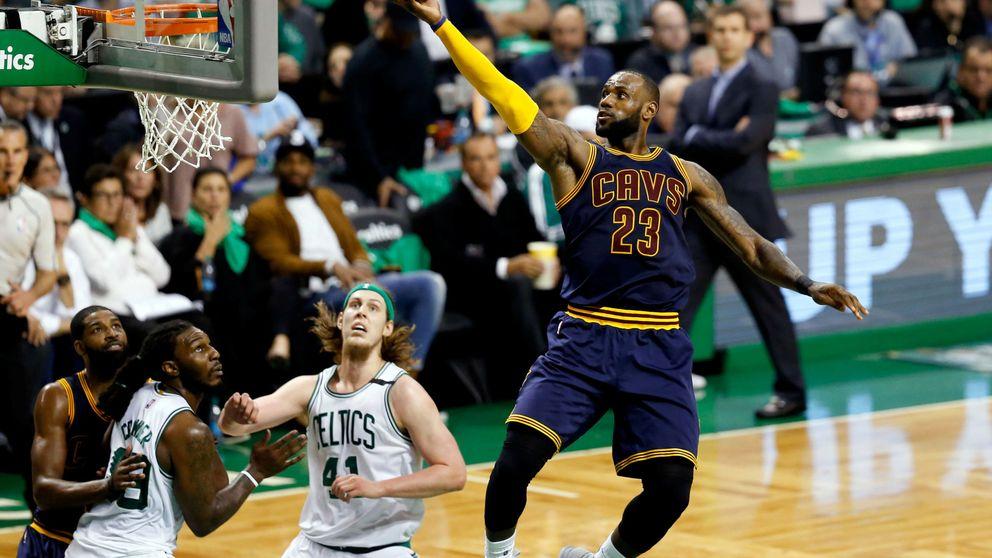 LeBron supera a Jordan como máximo anotador y lleva a los Cavaliers a la final