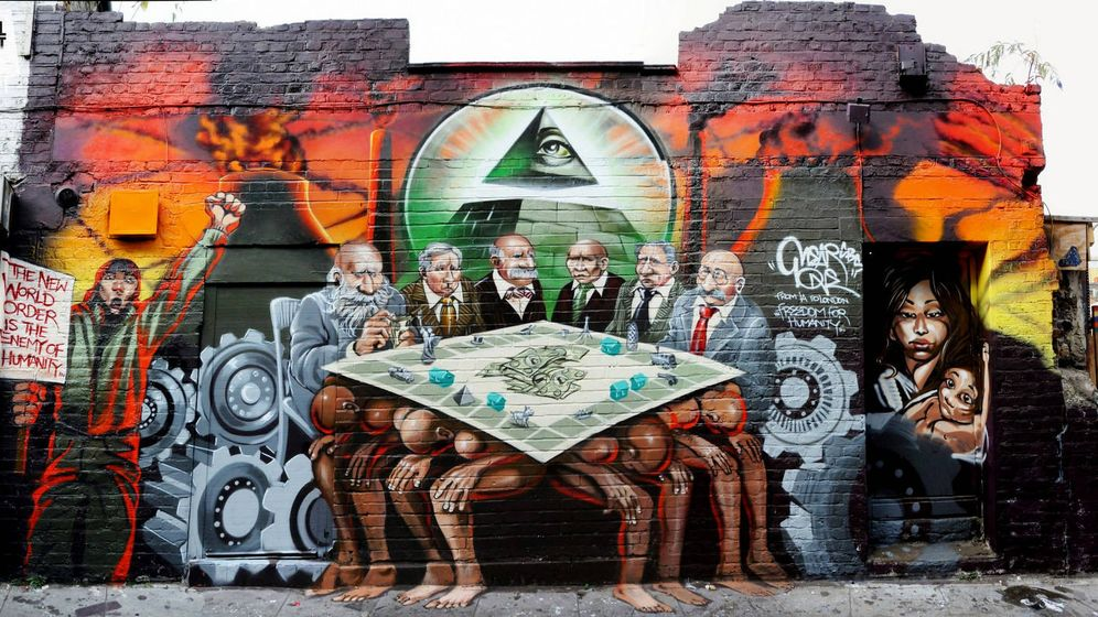 Foto: El mural antisemita de la discordia