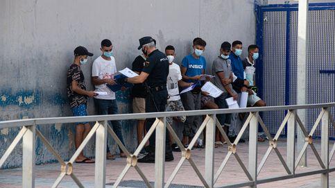 Aluvión de peticiones de asilo en la frontera del Tarajal: solo se tramita el 4%