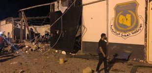 Post de Al menos 40 muertos en un bombardeo en un centro de migrantes de Trípoli