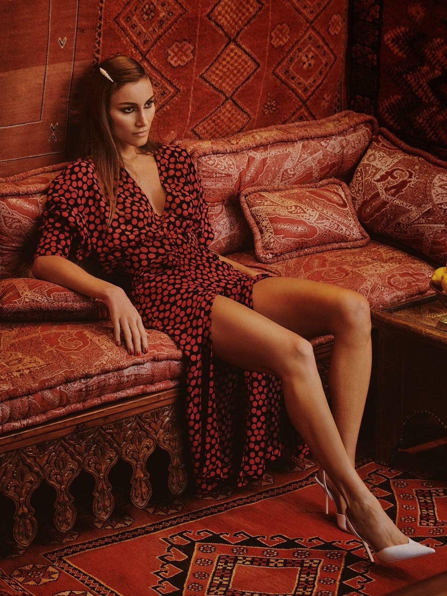 Giorgia Tordini para Zara. (Cortesía)