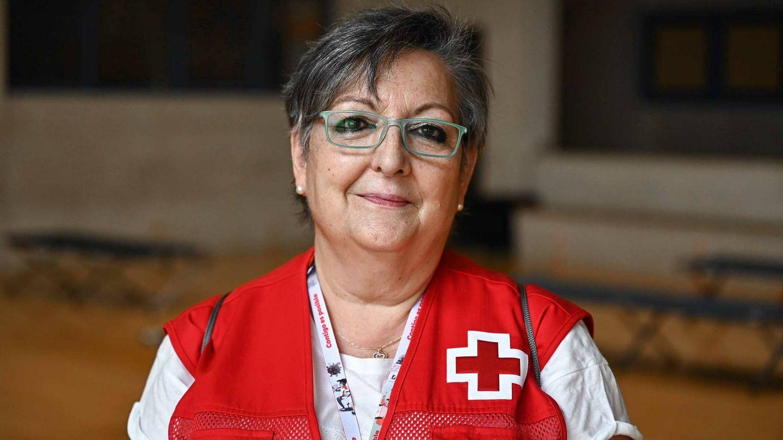 María del Pilar Badía, voluntaria de Cruz Roja. (Germán Pozo)