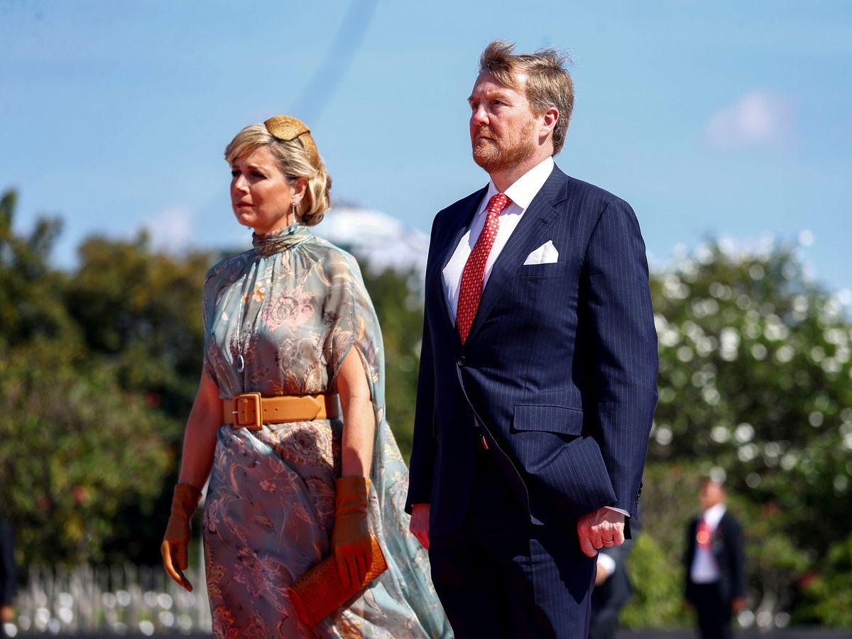Foto: Guillermo y Máxima de Holanda, el pasado marzo. (Reuters)