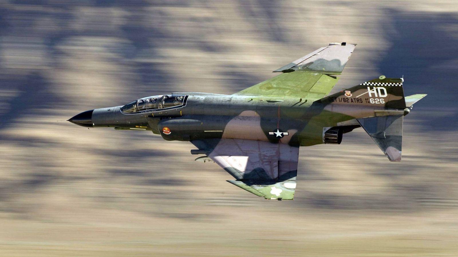 Foto: MacDonnell Douglas F-4 Phantom II.