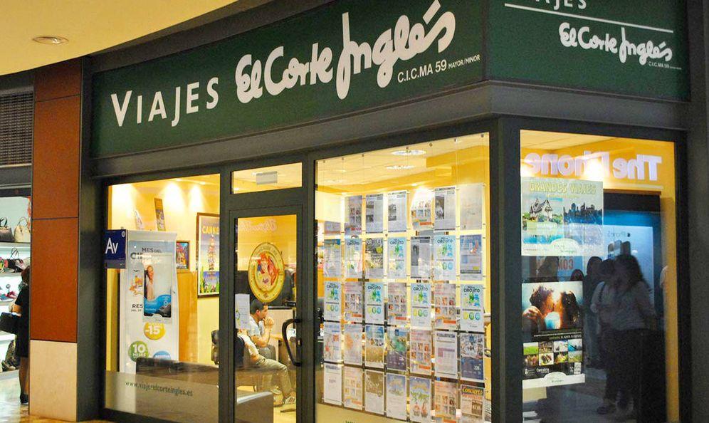 Foto: Una tienda de Viajes El Corte Inglés.