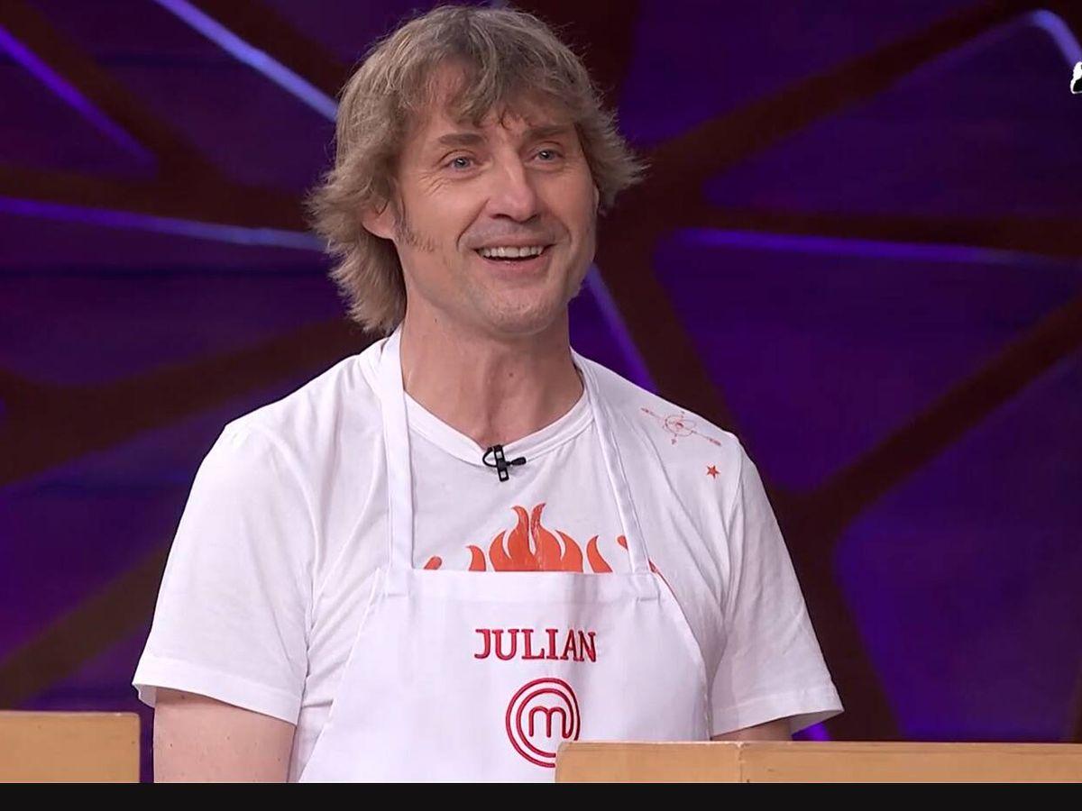 Foto: Julian Ianzti, en 'Masterchef Celebrity'. (TVE)