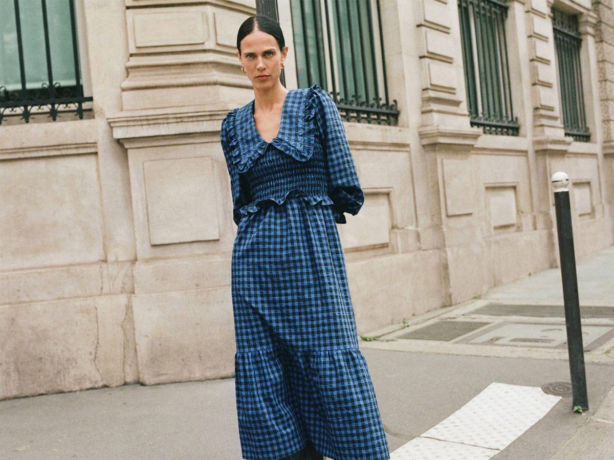 Foto: El vestido de Mango que ha arrasado entre las francesas es pura tendencia. (Cortesía)