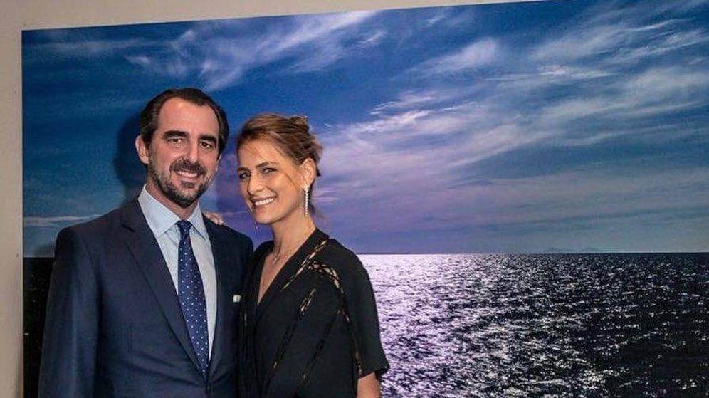 Foto:  Nicolás y Tatiana, en Atenas. (Instagram)