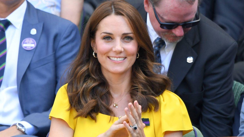 Kate Middleton recicla y recupera su emblemático vestido azul