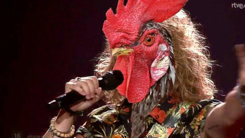 Los memes más sonoros del gallo de Manel Navarro en Eurovisión