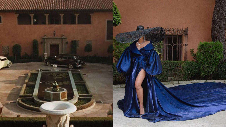 Fotograma de 'El padrino' / Imagen del álbum de Beyoncé. (Redes sociales)